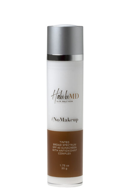 #NOMAKEUP Tinted SPF 40 with Antioxidant Complex – HabibiMD